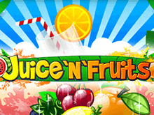 Игровой автомат Juice'n'Fruits от казино Вулкан